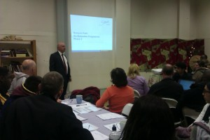 Cllr Barrie Hargrove launches the consultation