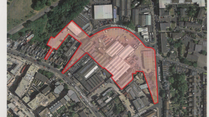 Burgess Business Park redevelopment site