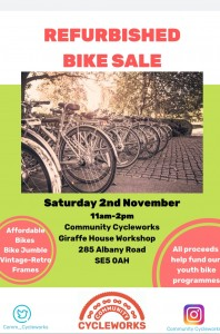 Cycle sale 2 Nov