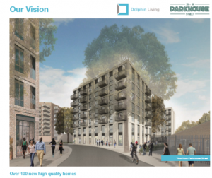 Dolphin Living proposal Parkhouse St