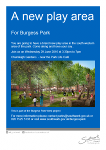 Burgess West playground consultation