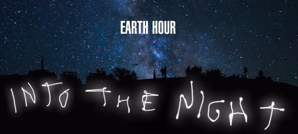 Earth Hour 2017 night sky photograph
