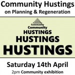 graphic for Community Hustings event