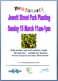 Community planting 15 March