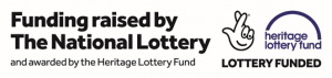 Funding raised by the National Lottery and awarded by the Heritage Lottery Fund