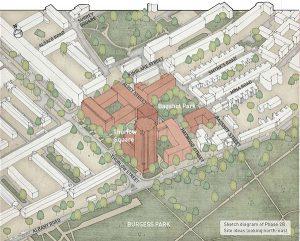 New Aylesbury buildings drawing